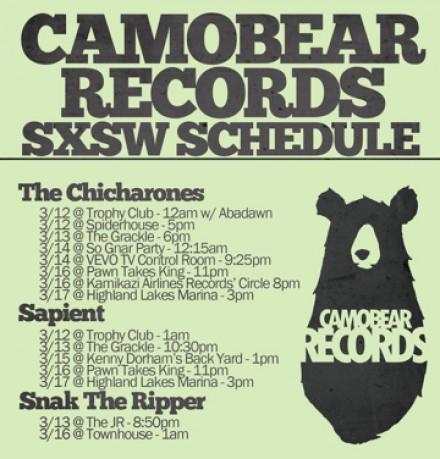 SXSW 2013 Showcase Schedule