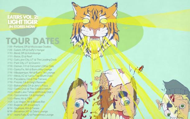 Sapient 2014 Light Tiger Tour Dates
